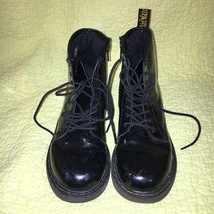 Black Doc Martens Child Size 3